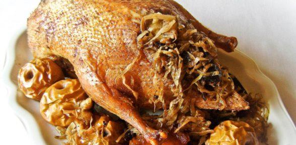 Приготовление праздничного гуся по-немецки