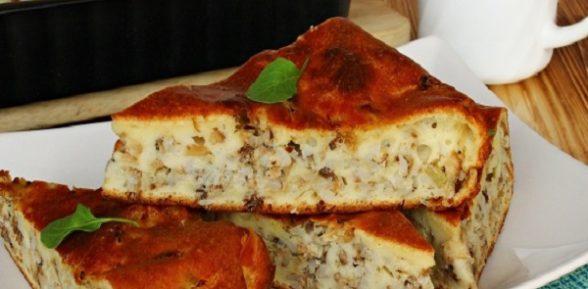 Простые домашние рецепты наливного пирога с рыбными консервами