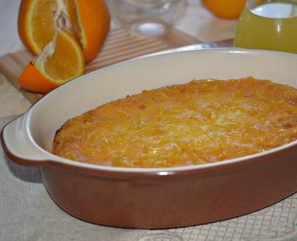 запеканка с апельсинами