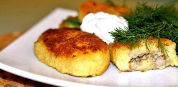Картофельное лакомство на каждый день и к празднику: зразы с фаршем в духовке