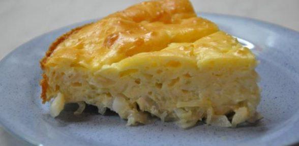 Наливной капустный пирог за 15 минут – идеи для завтрака, ужина или пикника.