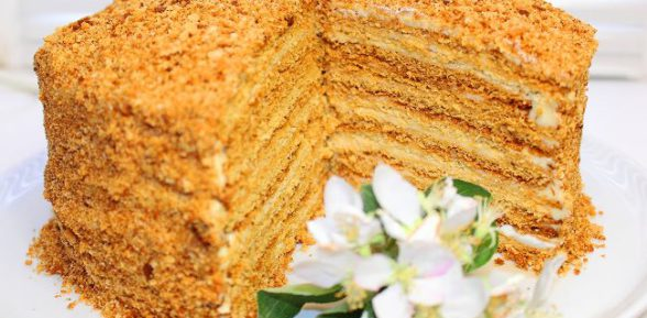 медовик торт рецепт say7
