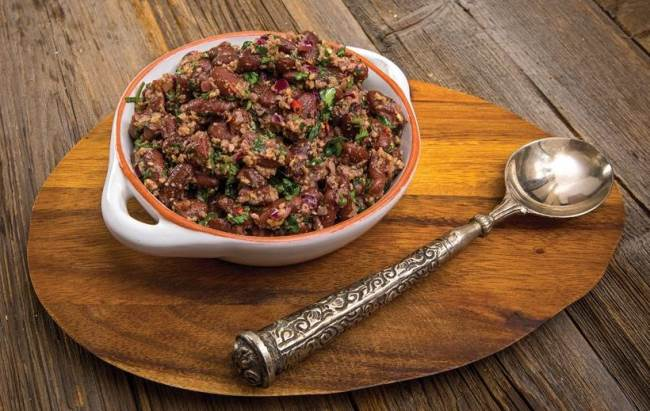 красная фасоль рецепты салатов