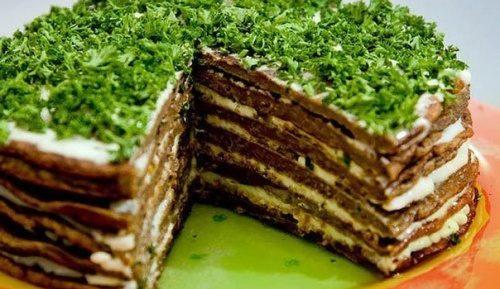 Как с пошаговым рецептам приготовления блинного торта сделать вкусное блюдо?