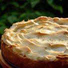 сахарный пирог со сливками