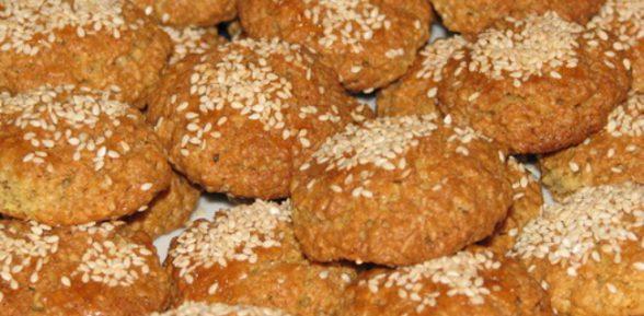 Рецепт овсяного печенья без муки