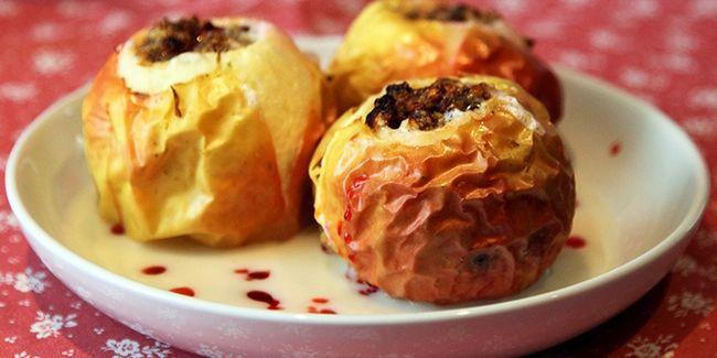 Рецепт печеных яблок с медом – Amberhoney Душевный мёд
