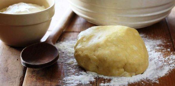 Тесто для печенья на сметане