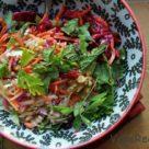 Красивый и вкусный салат на Новый Год
