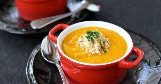 Рецепт супа-пюре из тыквы