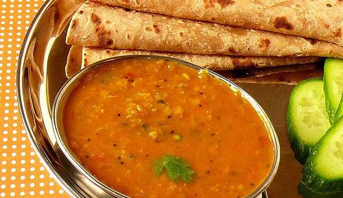 Индийский чечевичный суп Дал