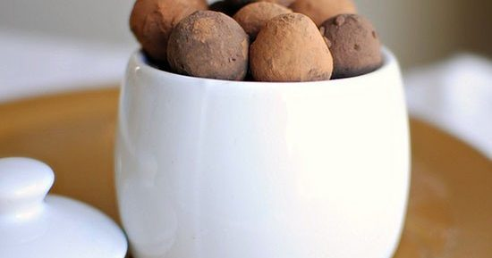 Шоколадные трюфели – фото рецепт