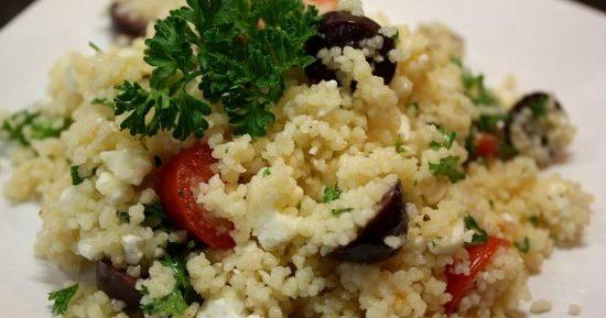 Кускус по-мароккански с помидорами