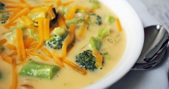 Крем-суп из брокколи