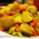 овощное рагу с перцем