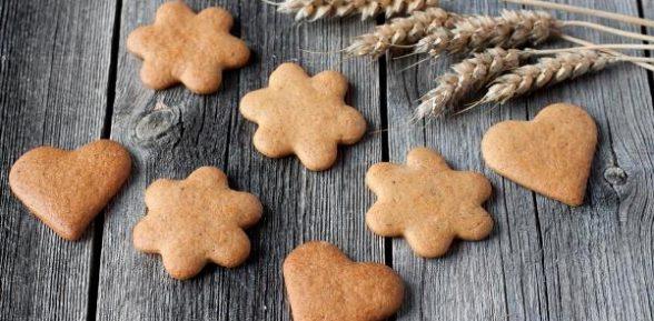 Как приготовить имбирное печенье