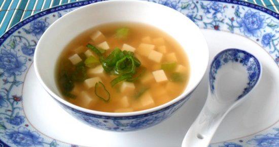 Классический японский мисо суп