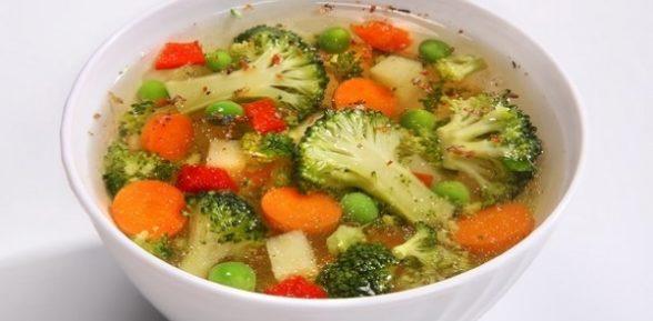 Легкий овощной суп. Рецепт простого супа