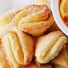 печенье из творожного теста с чаем