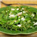 Винегрет с зеленым горошком фото