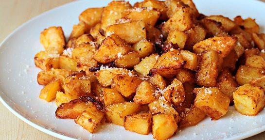 Картофель запеченный с сыром