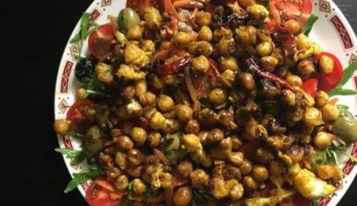 Индийское блюдо Салат Масала