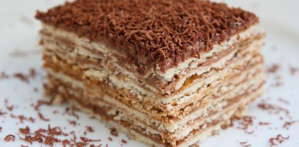 Рецепт торта Микадо