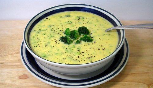 Сырный суп из плавленного сыра