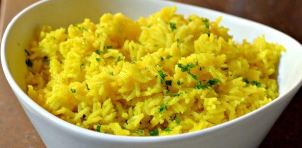 Желтый рис, рецепт