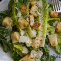 Простой рецепт салата Цезарь