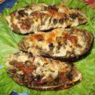 Бутерброды с колбасой и баклажанами в аэрогриле рецепт