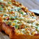 Бутерброды с чесноком и плавленным сыром в аэрогриле рецепт