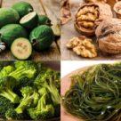 йод в растительных продуктах