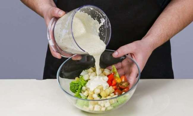 йогуртовая заправка