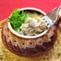 Картошка в горшочке с грибами