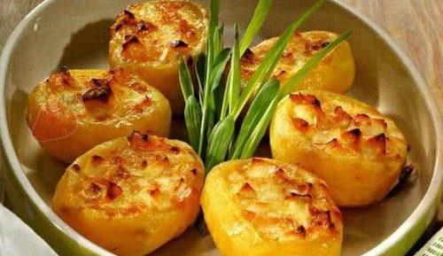 Картофель с сыром в аэрогриле