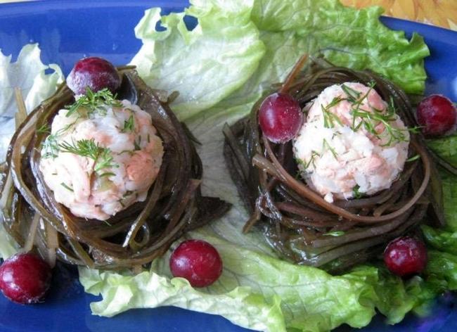 морские гнезда