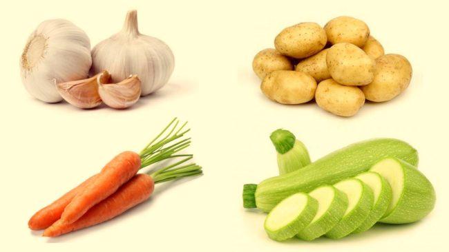 основные продукты для кугеля