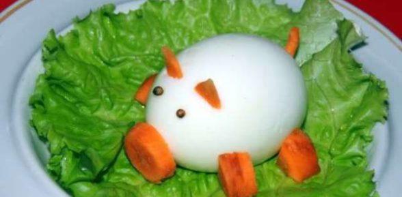 Поросенок из яйца
