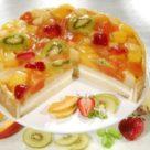 фото тортика с желе