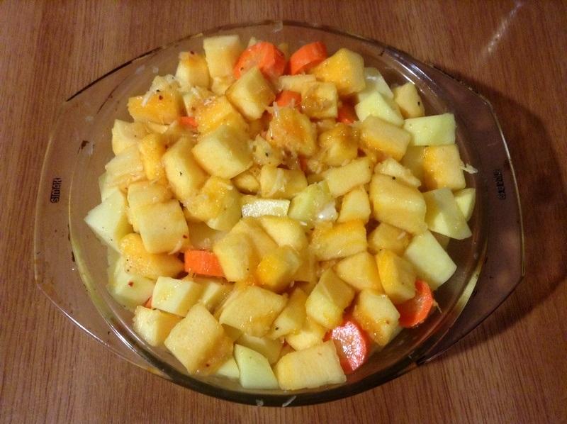 Приготовление овощного рагу в духовке