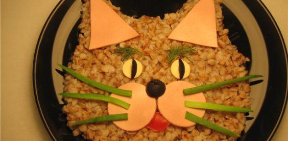 Гречневый кот