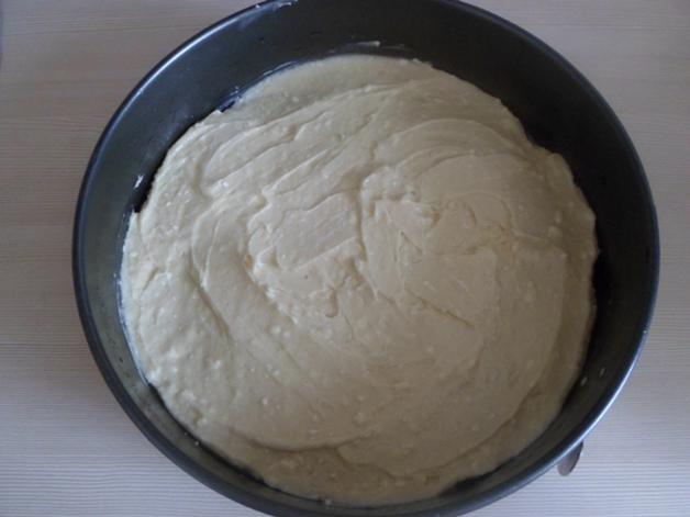 Приготовление воздушного пирога с грушами и зефиром
