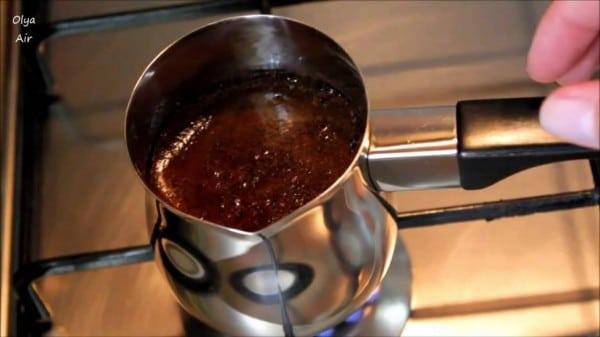 Приготовление капучино в домашних условиях