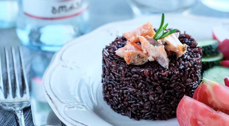 Как готовить черный рис