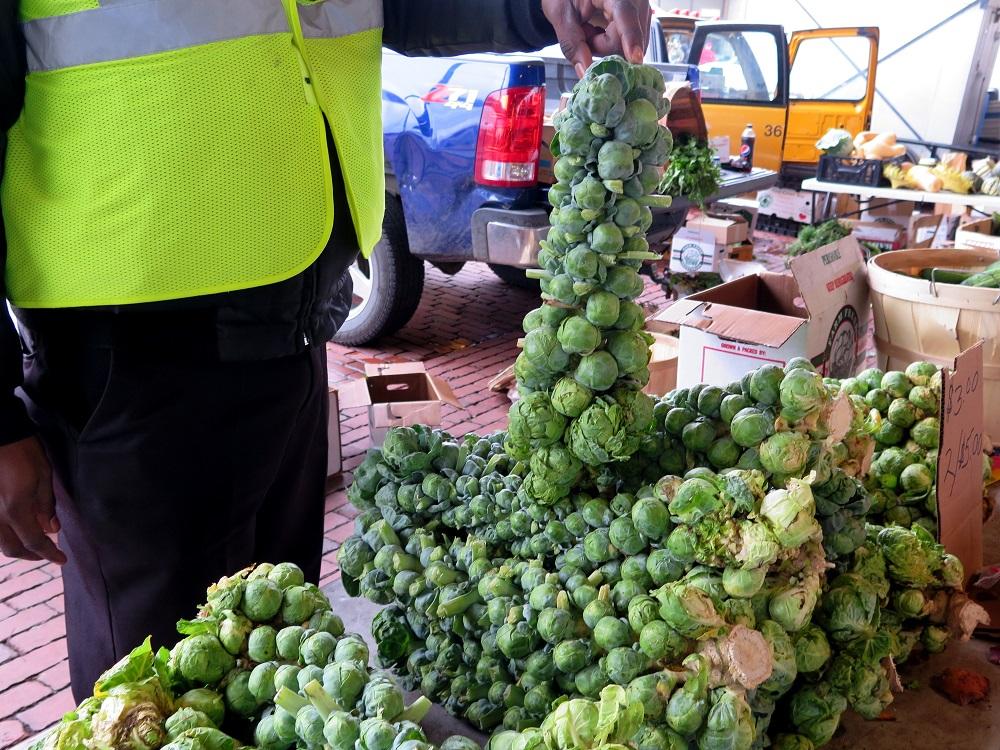 Как выбирать брюссельскую капусту
