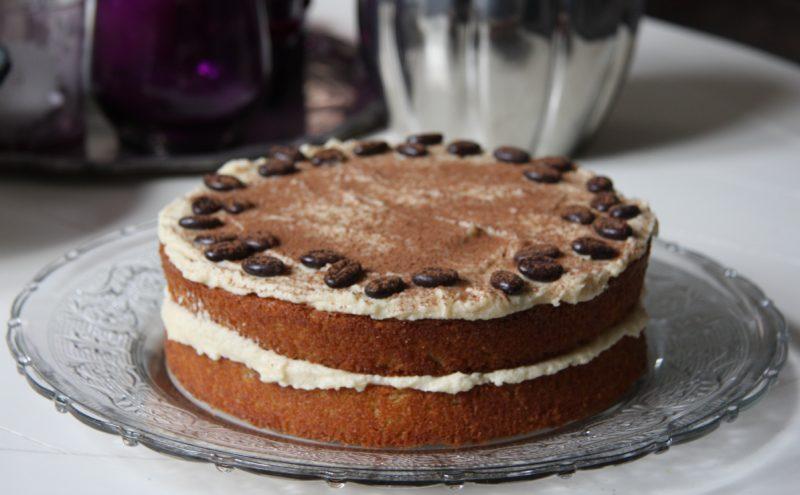 Торт со вкусом капучино