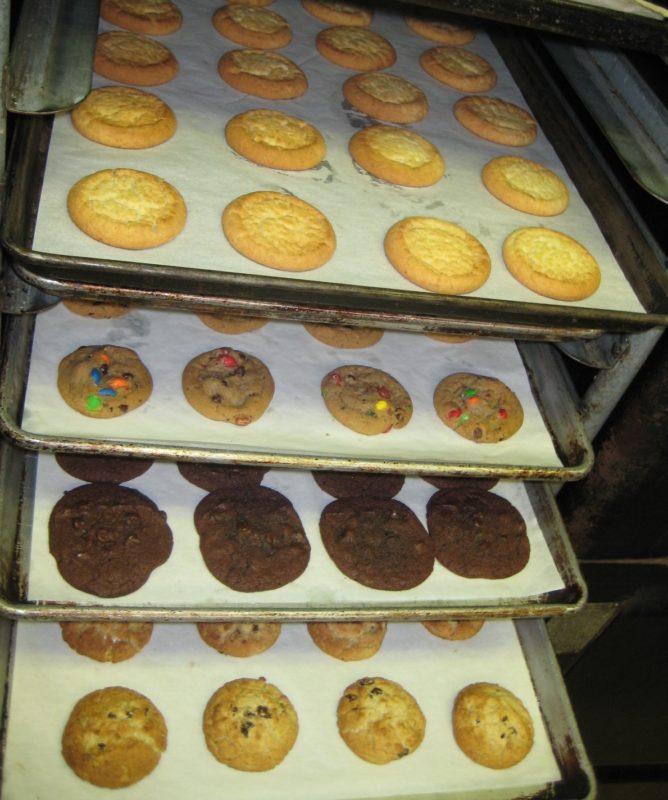 Домашнее американское печенье