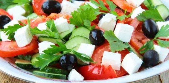 Салат «Греческий» классический