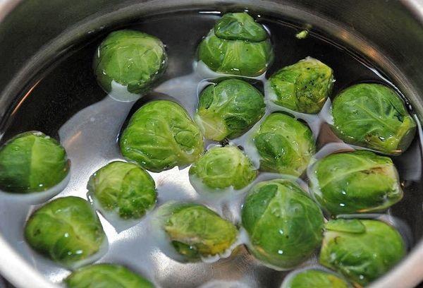 Как правильно варить брюссельскую капусту